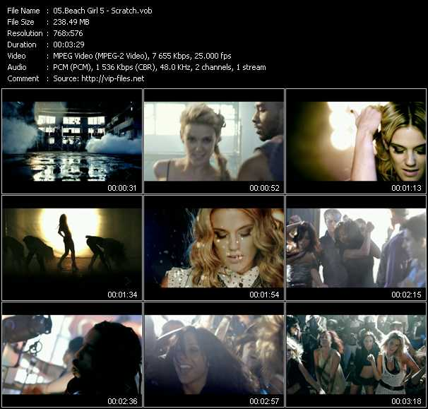 Beach Girl5 (BG5) video screenshot