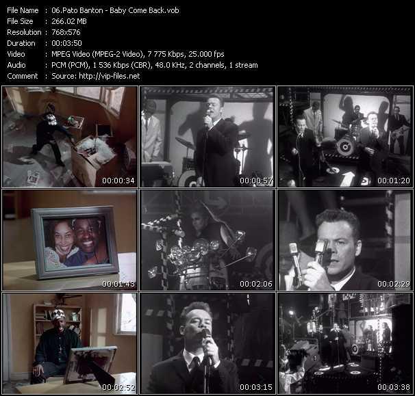 Pato Banton video screenshot