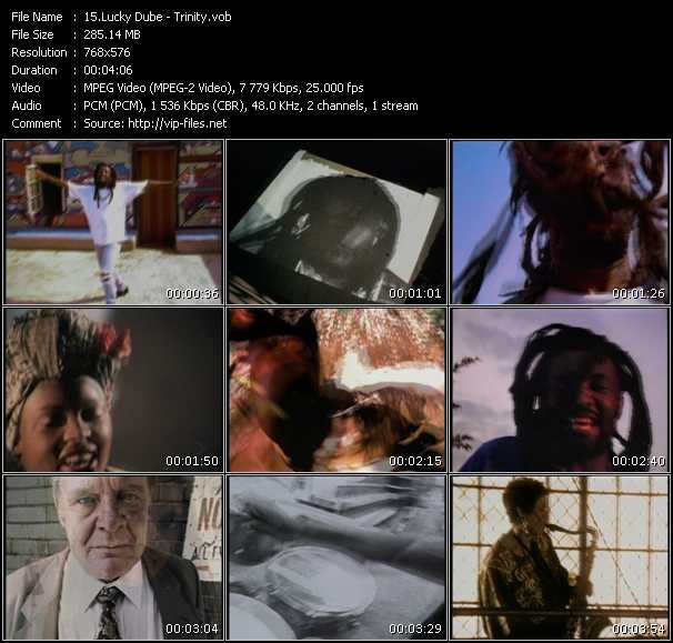 Lucky Dube video screenshot