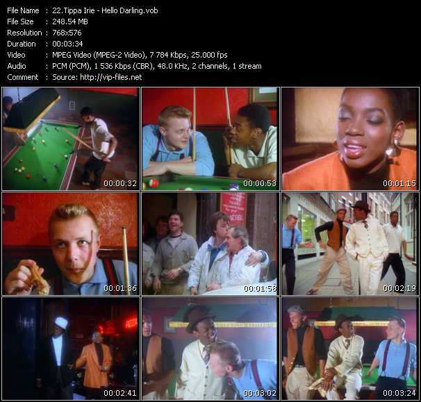 Tippa Irie video screenshot