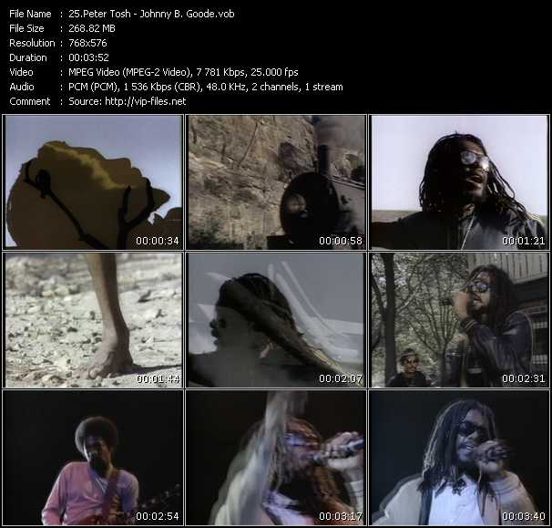 Peter Tosh video screenshot
