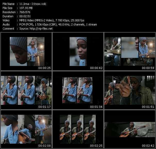 Irma video screenshot
