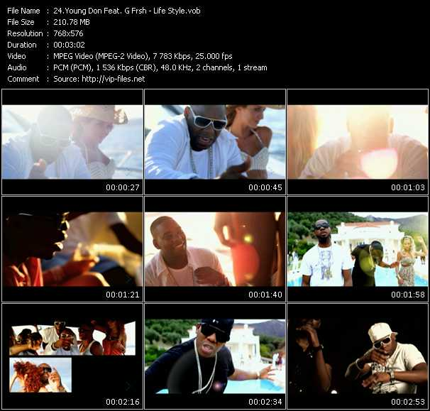 Young Don Feat. G Frsh video screenshot