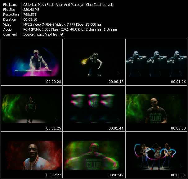Kylian Mash Feat. Akon And Maradja video screenshot