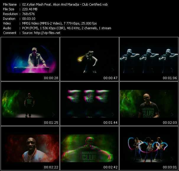 Kylian Mash Feat. Akon And Maradja video screenshot