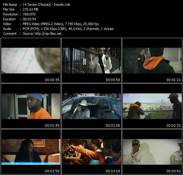 Sexion D'Assaut video screenshot