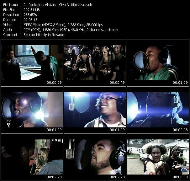 Rockcorps Allstars video screenshot