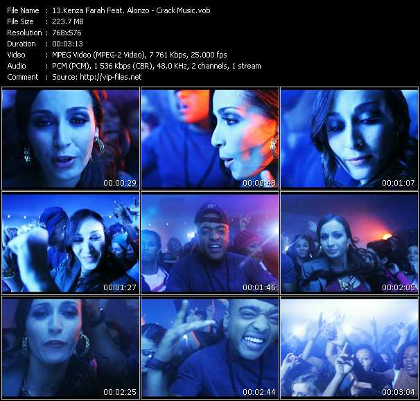Kenza Farah Feat. Alonzo video screenshot