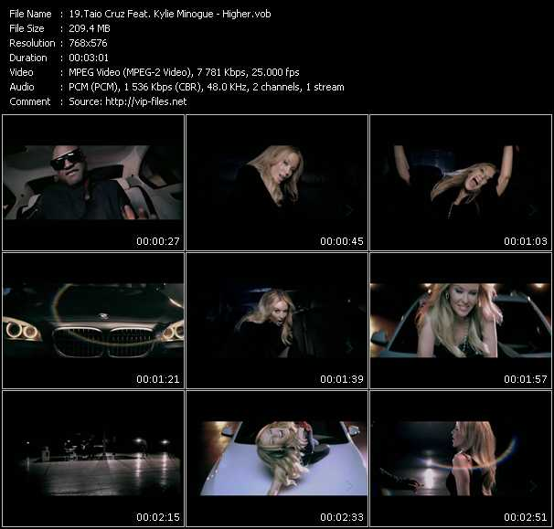 Taio Cruz Feat. Kylie Minogue video screenshot