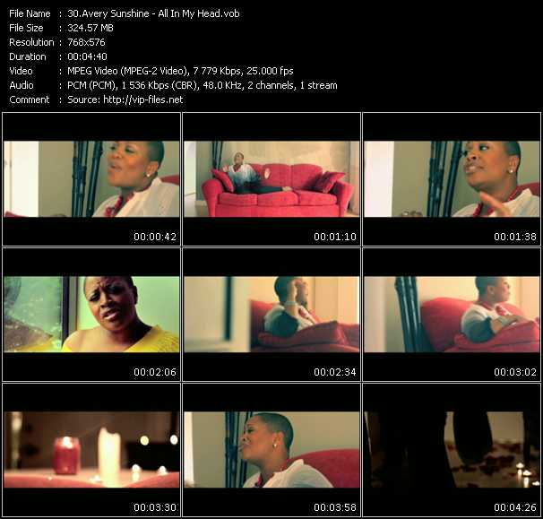 Avery Sunshine video screenshot