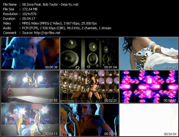 Inna Feat. Bob Taylor video screenshot