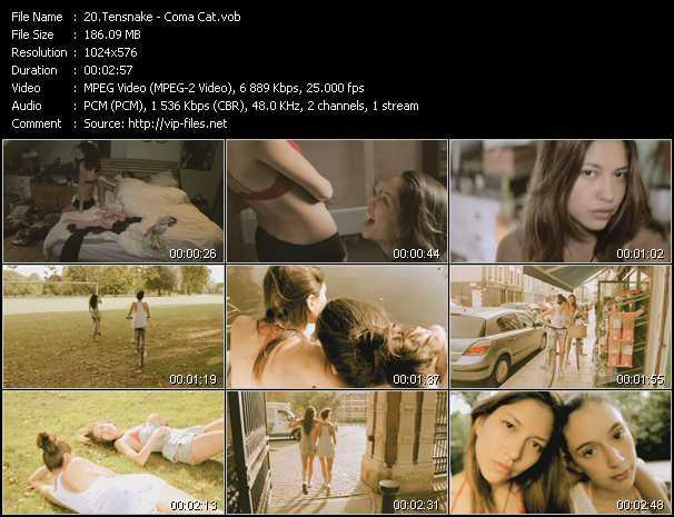 Tensnake video screenshot