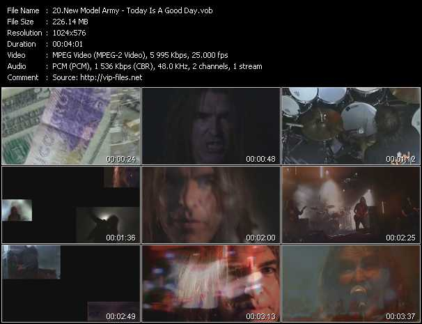 New Model Army video screenshot