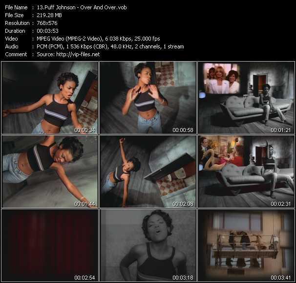 Puff Johnson video screenshot