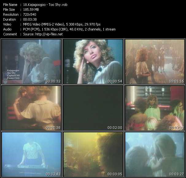Kajagoogoo video screenshot