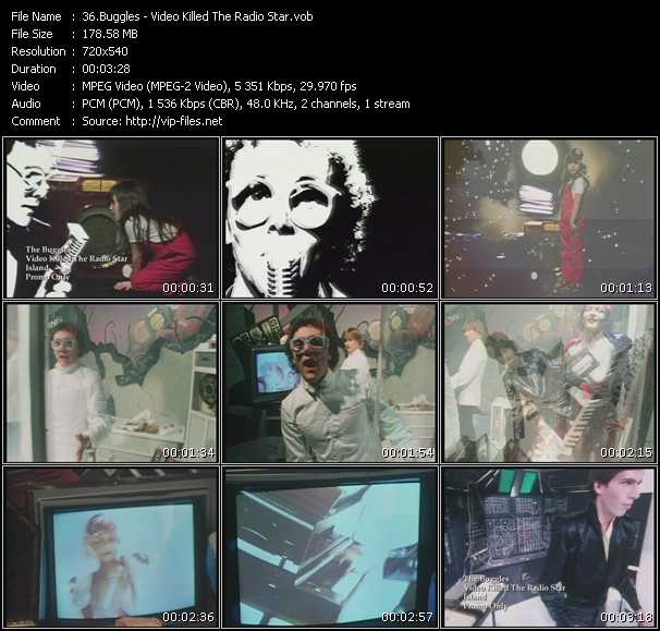 Buggles video screenshot
