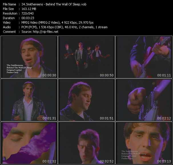 Smithereens video screenshot