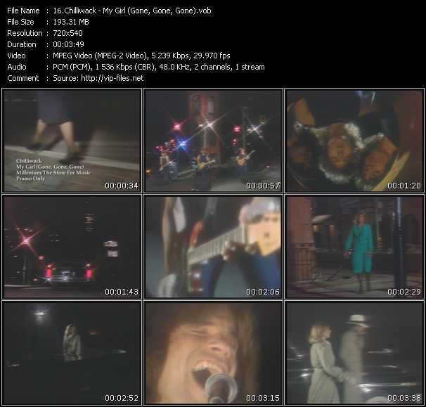 Chilliwack video screenshot