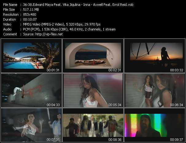 Edward Maya Feat. Vika Jigulina - Inna - Axwell Feat. Errol Reid video screenshot