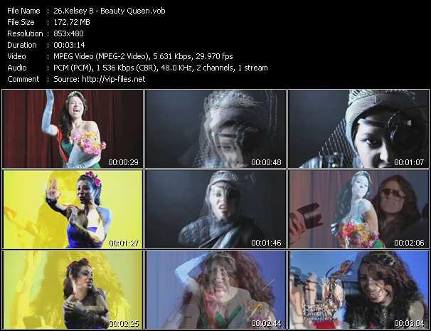 Kelsey B video screenshot