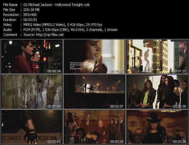 video Hollywood Tonight screen