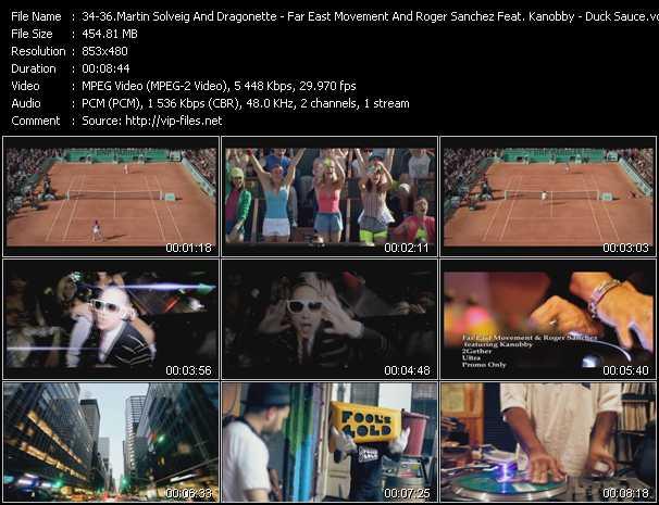 Martin Solveig And Dragonette - Far East Movement And Roger Sanchez Feat. Kanobby - Armand Van Helden And A-Trak Present Duck Sauce video screenshot