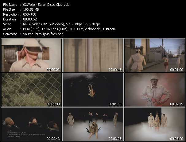 Yelle video screenshot
