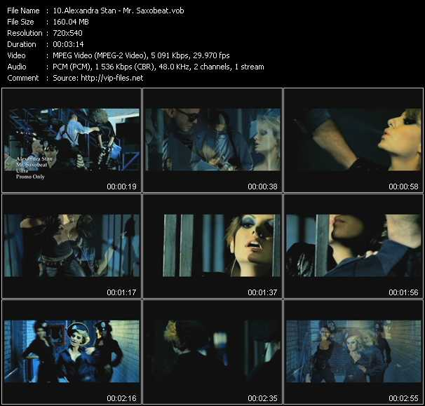 Alexandra Stan video screenshot