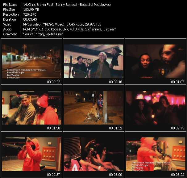 Chris Brown Feat. Benny Benassi video screenshot