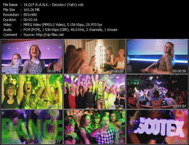 Dj F.R.A.N.K. video screenshot