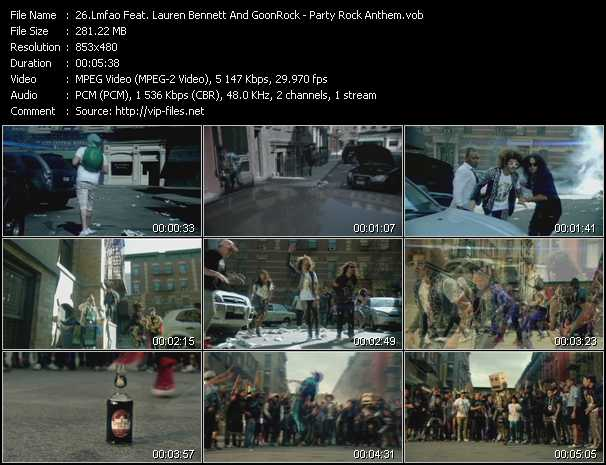 Lmfao Feat. Lauren Bennett And GoonRock video screenshot