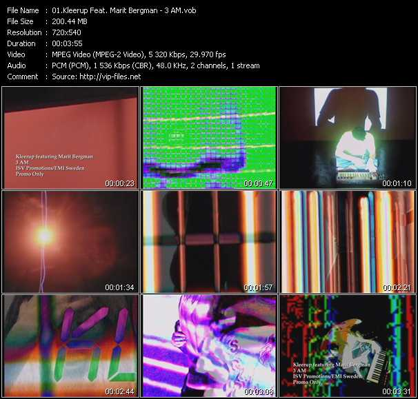 Kleerup Feat. Marit Bergman video screenshot