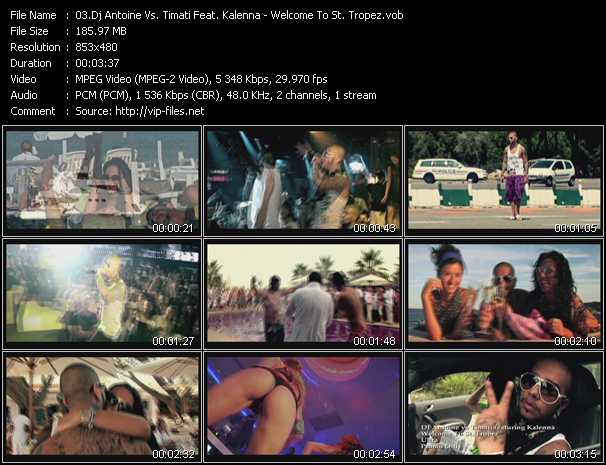 video Welcome To St. Tropez screen