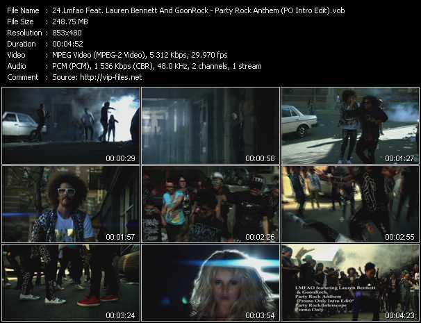 Lmfao Feat. Lauren Bennett And GoonRock video screenshot