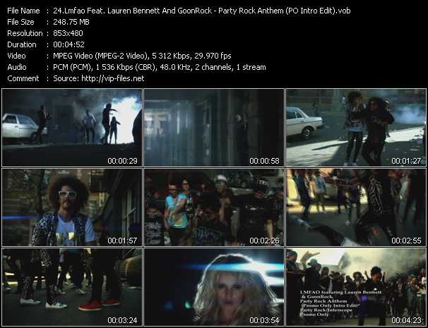 video Party Rock Anthem (PO Intro Edit) screen