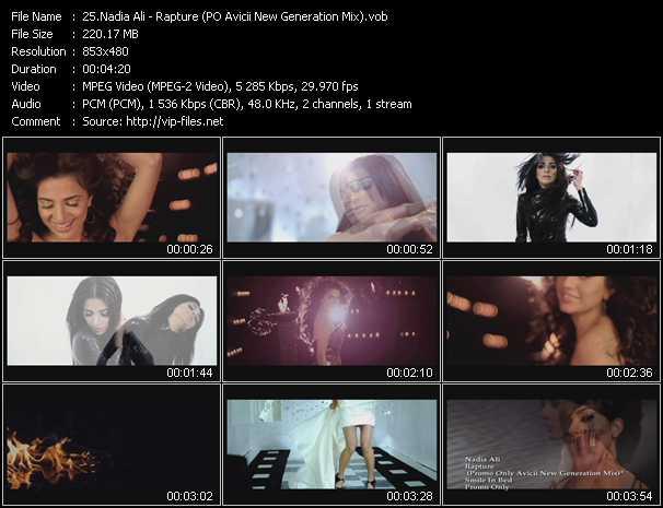 video Rapture (PO Avicii New Generation Mix) screen