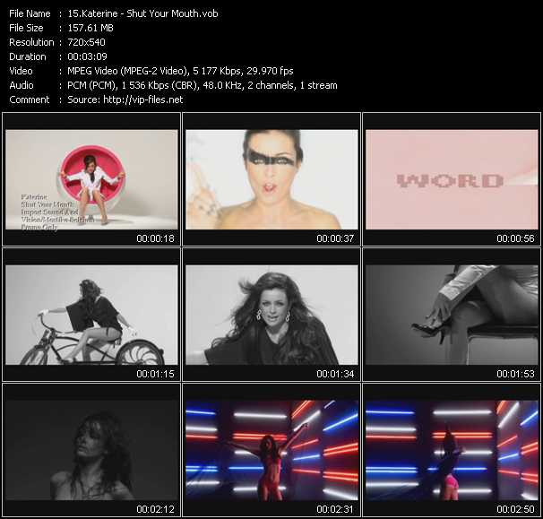 Katerine video screenshot