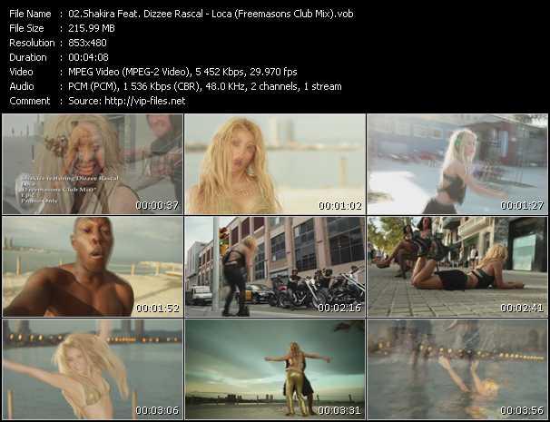 video Loca (Freemasons Club Mix) screen