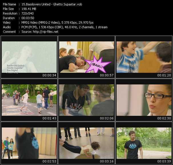 Basslovers United video screenshot