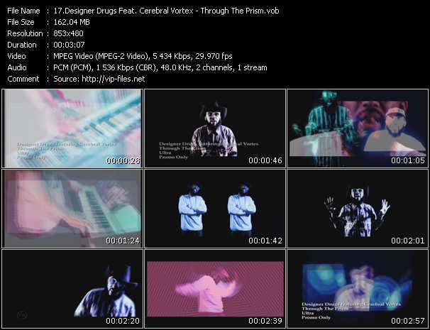 Designer Drugs Feat. Cerebral Vortex video screenshot
