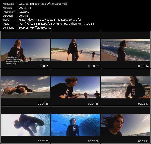 Great Big Sea video screenshot