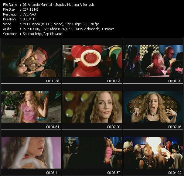 Amanda Marshall video screenshot