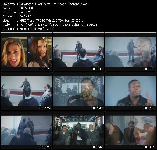 Wideboys Feat. Sway And McLean video screenshot