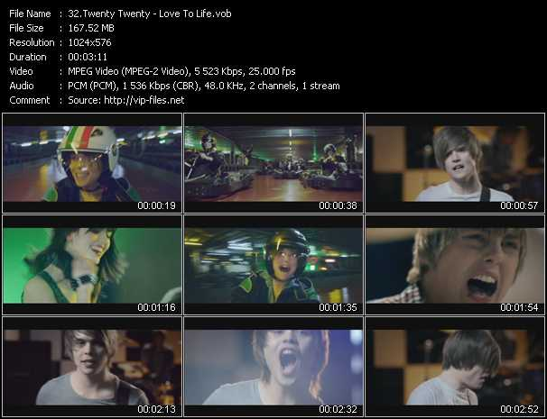 Twenty Twenty video screenshot