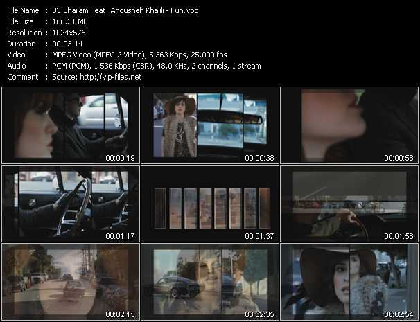 Sharam Feat. Anousheh Khalili video screenshot