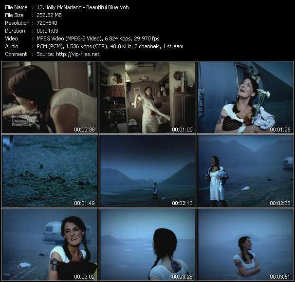 Holly McNarland video screenshot
