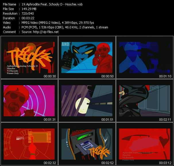 Aphrodite Feat. Schooly D video screenshot