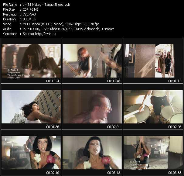 Bif Naked video screenshot