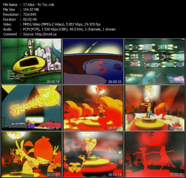 Klea video screenshot