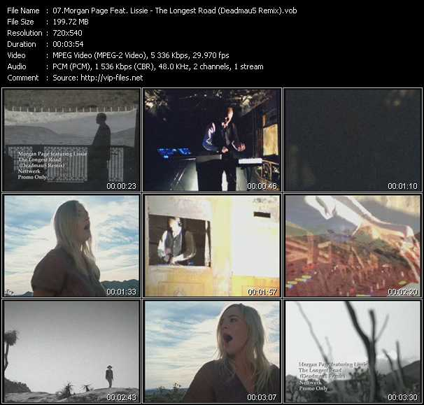 Morgan Page Feat. Lissie video screenshot